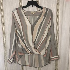 Draped Cynthia Rowley blouse! Accepting offers